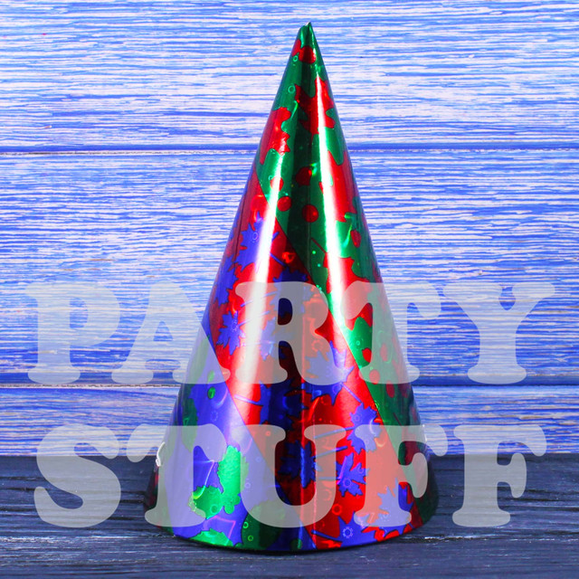 Колпак праздничный Синий