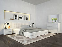 Кровать деревянная Регина Люкс без подъёмного механизма двуспальная