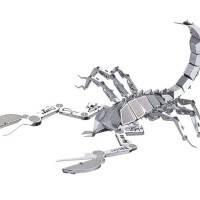 3D пазл металлический «Скорпион»