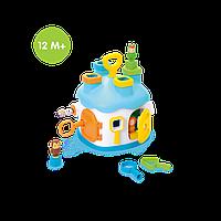 Развивающий Домик-головоломка Теремок Cotoons голубой Smoby 211404N, фото 1