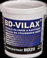 Пропитка; добавка в строительные смеси, клей для бумаги и картона BD - VILAX KONCENTRÁT BD 20