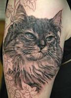 Татуировка с животными