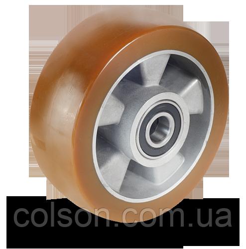 Колеса из полиуретана с алюминиевым диском AU-серии из