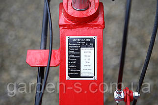 Мотоблок WEIMA WM1100A (дизель 6л.с., колеса 4.00-10) Бесплатная доставка, фото 3
