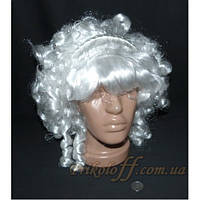 Женский парик «Сударыня» белый