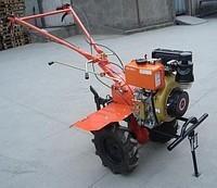 Мотоблок Булат ВТ1100АЕ (дизель 6 л.с., электростартер, колеса 4.00-10) Бесплатная доставка
