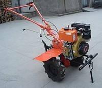 Мотоблок Булат ВТ1100АЕ (дизель 6 л.с., электростартер, колеса 4.00-10) Бесплатная доставка, фото 2