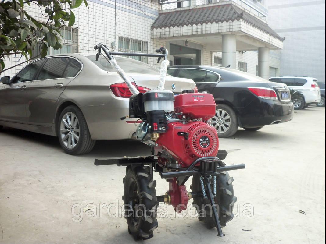 Мотоблок Булат ВТ1100Е (бензин 16 л.с., колеса 4.00-10) Бесплатная доставка
