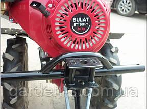 Мотоблок Булат ВТ1100Е (бензин 16 л.с., колеса 4.00-10) Бесплатная доставка, фото 3
