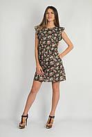 Платье Крылья темно-коричневое, фото 1