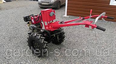 Мотоблок тяжелый Булат WM 9Е (дизельный двигатель воздушного охлаждения 9 л.с., электростартер), фото 2