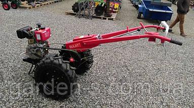 Мотоблок тяжелый Булат WM 9 (дизельный двигатель воздушного охлаждения 9 л.с., ручной стартер), фото 3