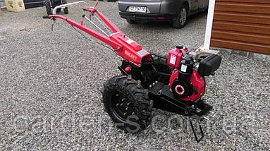 Мотоблок тяжелый Булат WM 6R (дизельный двигатель c редуктором воздушного охлаждения 6 л.с., ручной , фото 3