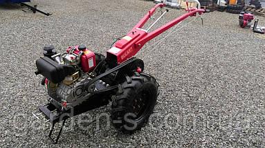 Мотоблок тяжелый Булат WM 6R (дизельный двигатель c редуктором воздушного охлаждения 6 л.с., ручной , фото 2
