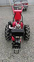 Мотоблок тяжелый Булат WM 6ЕR (дизельный двигатель с редуктором воздушного охлаждения 6 л.с., электр, фото 3