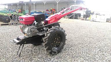 Мотоблок тяжелый Булат WM 16R (бензиновый двигатель с редуктором воздушного охлаждения 16 л.с. ручной стартер), фото 2