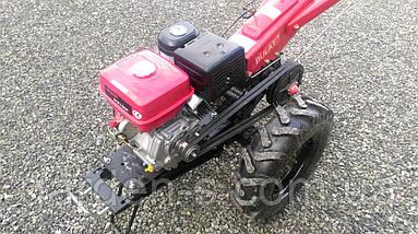 Мотоблок тяжелый Булат WM 16R (бензиновый двигатель с редуктором воздушного охлаждения 16 л.с. ручной стартер), фото 3