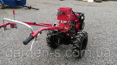 Мотоблок тяжелый Булат WM 6Е (дизельный двигатель воздушного охлаждения 6 л.с., электростартер), фото 3