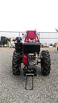 Мотоблок тяжелый Булат WM 12ЕR (дизельный двигатель воздушного охлаждения, редуктор 12 л.с., электростартер), фото 3
