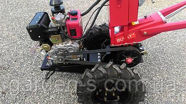 Мотоблок тяжелый Булат WM 12ЕR (дизельный двигатель воздушного охлаждения, редуктор 12 л.с., электростартер), фото 2