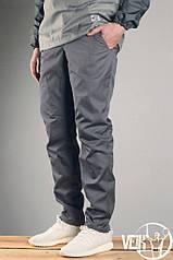 Серые Штаны мужские летние  брюки прямые