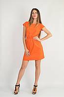 Платье Карман оранжевое