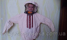 Куртка бджоляра з орнаментом
