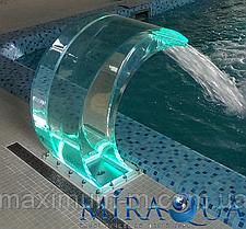 Прозрачный водопад с LED и пультом управления КОМПЛЕКТ