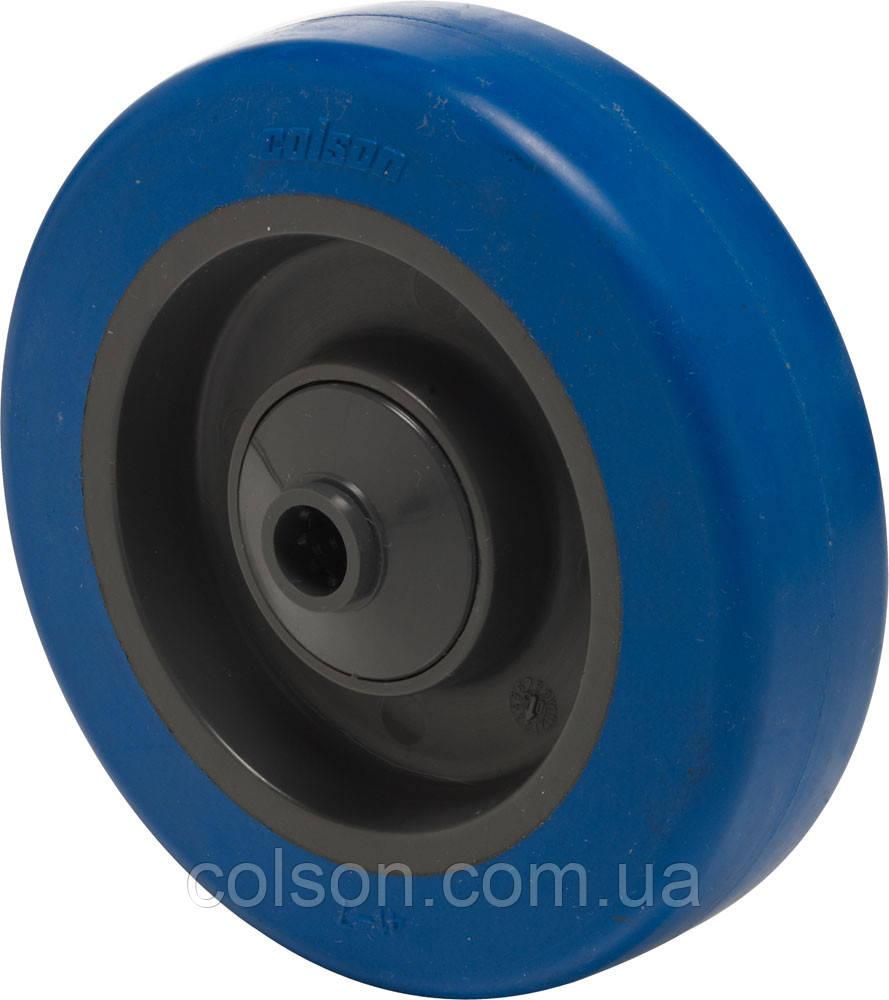Колеса с голубым резиновым протектором средней грузоподьемности PB серия