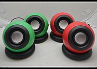 Колонки G-116, компактные стерео динамики, акустическая система, музыкальные колонки для ноутбука,телефона