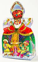 Новогодняя упаковка из картона Святой Николай 500г.