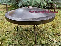 Сковорода жарочная туристическая Ø 500 мм с крышкой