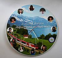 Часы Настенные подарочные с фотографиями
