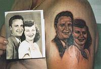 Татуировка портрета