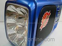 Радиоприемник EPE FP-1329, +LED фонарь, FM приемники,  AUX IN, туристические приемники, музыка с собой