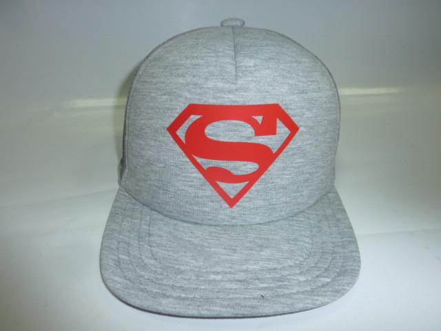 Кепка Супермен прямой козырек