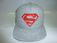 Кепка Супермен прямой козырек, фото 1