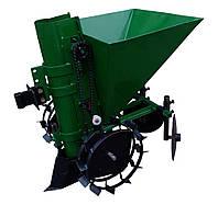 Картофелесажатель мотоблочный КСМ-1Ц (зеленый)