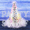 Колпачки феи тканевые с пухом Белые, 20 см