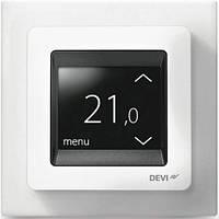 Терморегулятор DEVIreg Touch сенсорный многофункциональный, цвет белыйТерморегулятор DEVIreg Touch сенсорный м