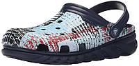 Кроксы Crocs Duet Max Mesh Print Clog Mule. Оригинал, фото 1