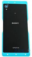 Задняя крышка корпуса Sony E2303 Xperia M4 Aqua / E2306 Xperia M4 Aqua / E2312 Xperia M4 Aqua / E2333 Xperia M4 Aqua Black
