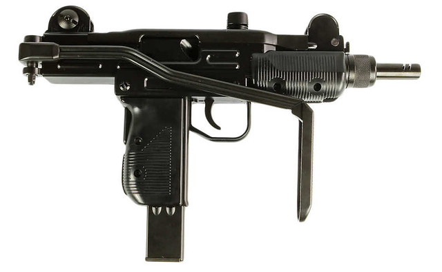 Пистолет-пулемет пневматический KWC KMB-07HN UZM (UZI)