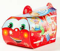 """Упаковка из картона """"Вертолет 400г."""" для новогодних подарков"""