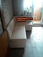 Кухонный диван на заказ Квадро 1100х1900мм