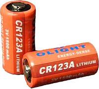 Батарея литиевая Olight CR123A 3.0v 1500mAh (10091)