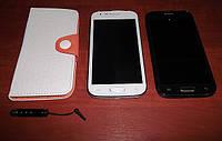 """Samsung Galaxy S4 i9500 5"""" дюймовый смартфон (Android 4, 2 сим карты, модель Р1i) +чехол и стилус в подарок!"""