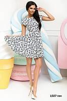 Женское платье с открытой спиной 1027 ген