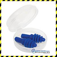 Силиконовые беруши Apex Air Pocket (защита от шума и воды), США.
