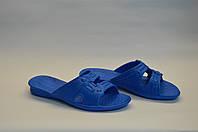 Женские шлепанцы оптом голубые ПЖ - 12 пена, фото 1
